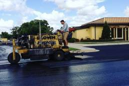 Blown Away Asphalt Sealcoating