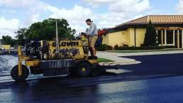 Blown Away Commercial Asphalt Sealcoating Services