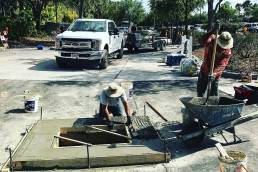 Concrete Repair Crew