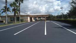 Blown Away Commercial Parking Lot Striping Services