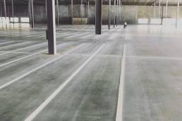 Blown Away Parking Lot Striping