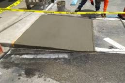 Concrete ramp repair